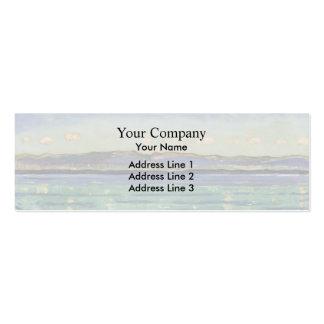 Ferdinand Hodler- Landscape with of rhythm Business Card