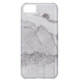 Ferdinand Hodler-Lauterbrunnen Valley dust stream iPhone 5C Cover
