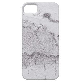 Ferdinand Hodler-Lauterbrunnen Valley dust stream iPhone 5 Case
