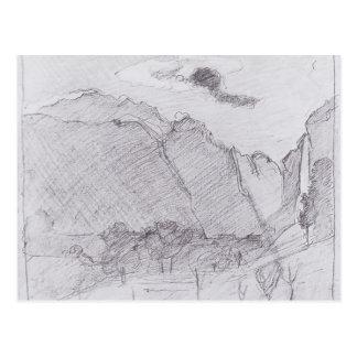 Ferdinand Hodler-Lauterbrunnen Valley&dust stream Postcards