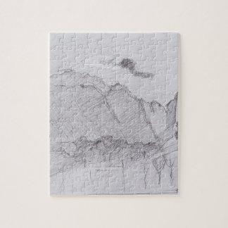 Ferdinand Hodler-Lauterbrunnen Valley&dust stream Puzzle