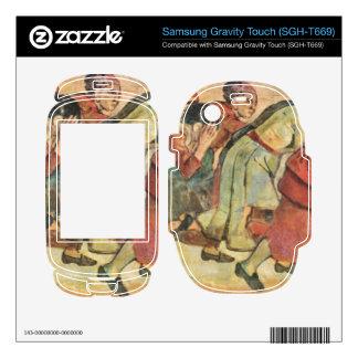 Ferdinand Hodler - Running Women Samsung Gravity Touch Skin