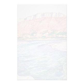 Ferdinand Hodler- Saleve in autumn Stationery Paper