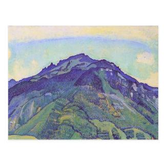 Ferdinand Hodler- Schynige plate Postcard