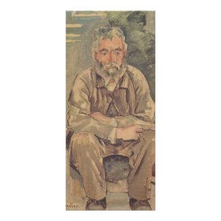 Ferdinand Hodler- Seated bearded man Full Color Rack Card