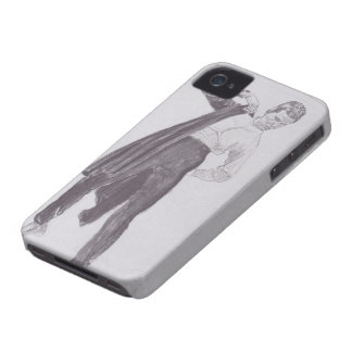 Ferdinand Hodler- Student, appealing his tunic iPhone 4 Case-Mate Case