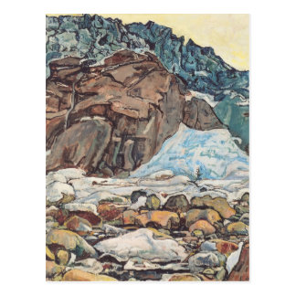 Ferdinand Hodler- The Grindelwald glacier Postcard