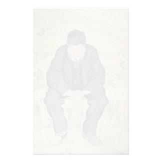 Ferdinand Hodler- Unemployed Customized Stationery
