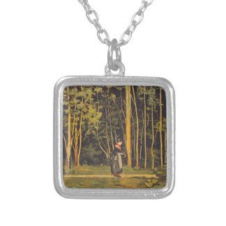 Ferdinand Hodler- Walking at the forest edge Jewelry