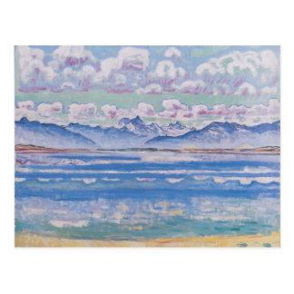 Ferdinand Hodler- Weisshorn of Montana Postcard