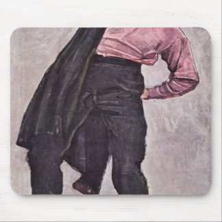 Ferdinand Hodler - Young freedom fighter Mousepads