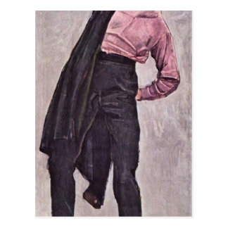 Ferdinand Hodler - Young freedom fighter Postcard