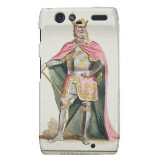 Ferdinand I (1379-1416) King of Aragon from 'Receu Droid RAZR Case