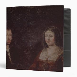 Ferdinand II of Aragon and Isabella I of Castile 3 Ring Binder