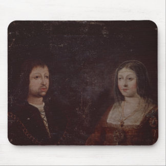 Ferdinand II of Aragon and Isabella I of Castile Mouse Pad