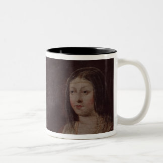 Ferdinand II of Aragon and Isabella I of Castile Two-Tone Coffee Mug