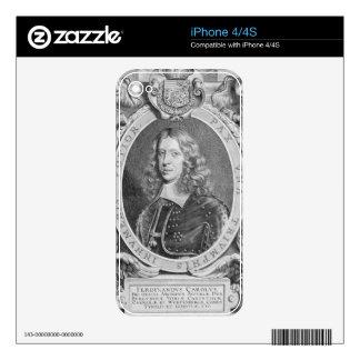 Ferdinand III (1608-57) Archduke of Austria, Holy iPhone 4 Decal