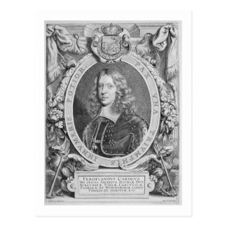 Ferdinand III (1608-57) Archduke of Austria, Holy Postcard