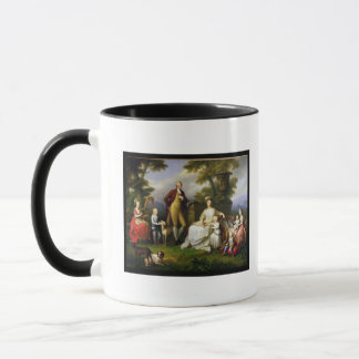 Ferdinand IV  King of Naples, and his Family Mug