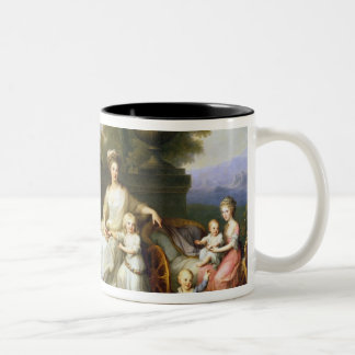 Ferdinand IV  King of Naples, and his Family Two-Tone Coffee Mug