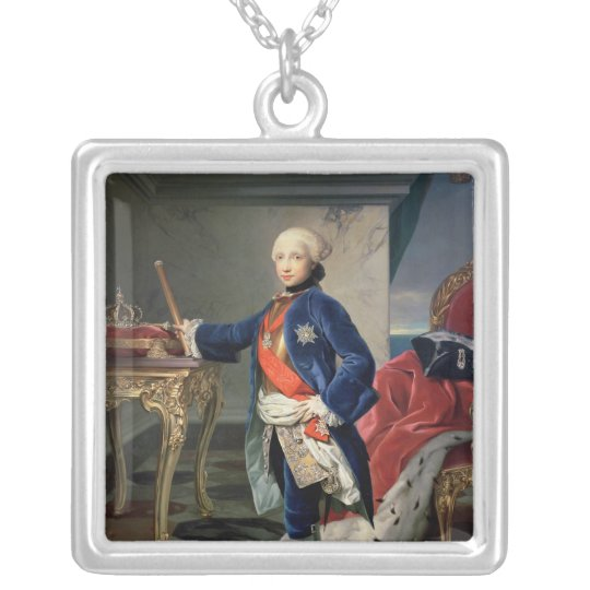 Ferdinand IV, King of Naples Silver Plated Necklace