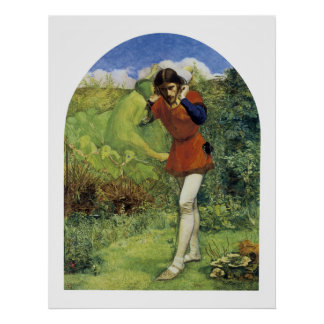 Ferdinand Lured by Ariel Poster