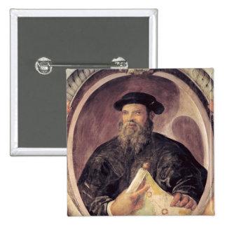 Ferdinand Magellan 2 Inch Square Button