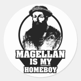 Ferdinand Magellan is my homeboy Classic Round Sticker
