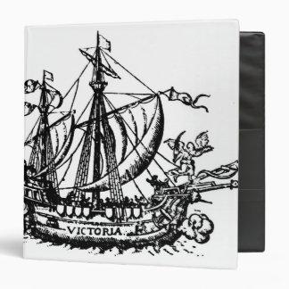 Ferdinand Magellan's boat 'Victoria' Binder