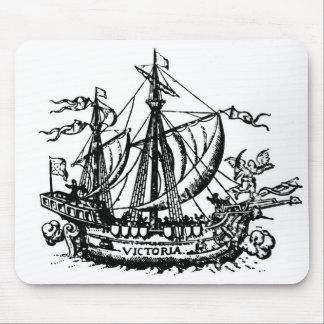 Ferdinand Magellan's boat 'Victoria' Mouse Pad
