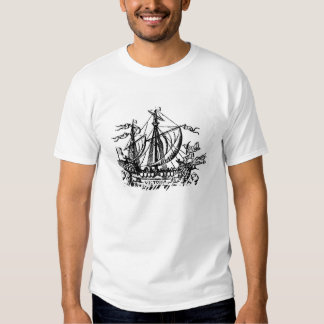 Ferdinand Magellan's boat 'Victoria' T Shirt