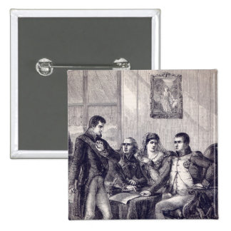 Ferdinand of Spain resigning his crown 2 Inch Square Button