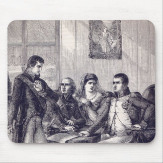 Ferdinand of Spain resigning his crown Mouse Pad
