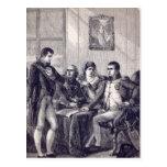 Ferdinand of Spain resigning his crown Postcard