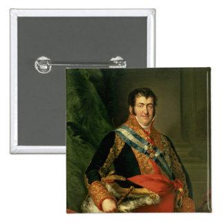 Ferdinand VII  1808-11 Pinback Button