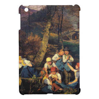 Ferdinand Waldmüller: The violets pickers Cover For The iPad Mini