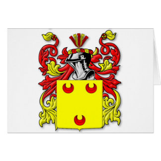 Fereday Coat of Arms Card