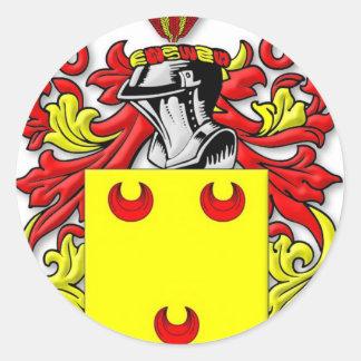 Fereday Coat of Arms Classic Round Sticker