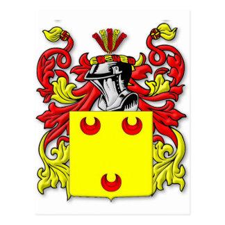 Fereday Coat of Arms Postcard