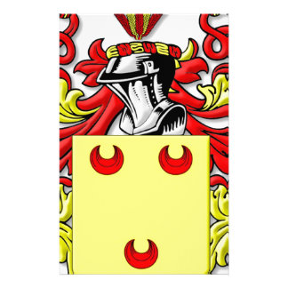 Fereday Coat of Arms Stationery