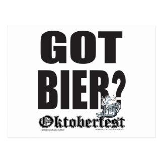 Féretro conseguida - Oktoberfest Postales