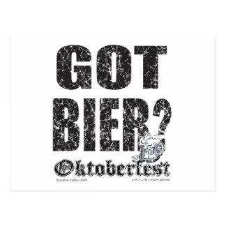 Féretro conseguida - Oktoberfest Tarjetas Postales