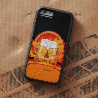 Féretro de la cerveza de Oktoberfest Funda De iPhone 6 Tough Xtreme