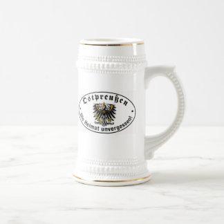 Féretro del este Stein de Prusia Jarra De Cerveza