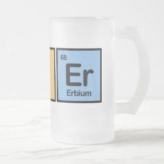 Féretro hecha de elementos tazas de café