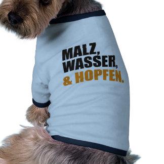 Féretro Camisas De Mascota