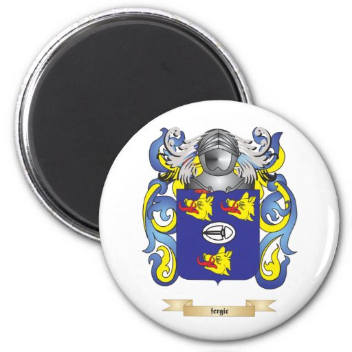 Fergie Coat of Arms 2 Inch Round Magnet