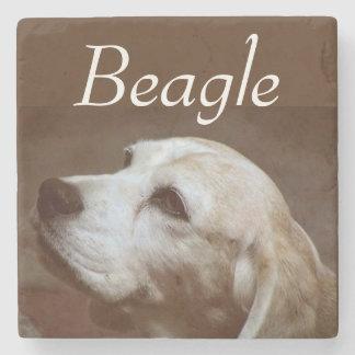 Fergie the Beagle 2 Stone Coaster