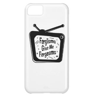 Fergisms Fergasms Black and White iPhone 5C Cases