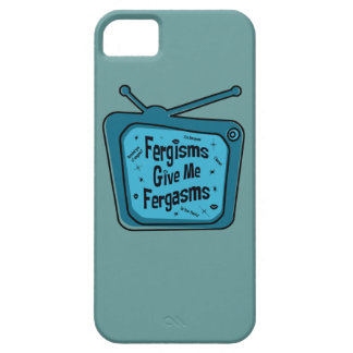 Fergisms Fergasms Blue iPhone 5 Cases